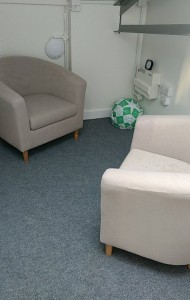 The new counselling rooms